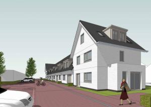 Voorbeeld van woning in de madeliefstraat in Nieuw-Vennep | De Madelief